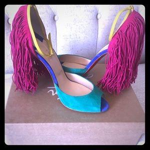Tri-Color Otrot Louboutin Heels